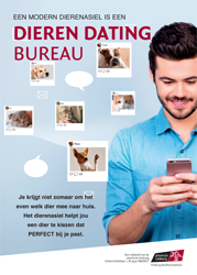 Een modern asiel is een Dieren Dating Bureau